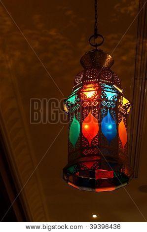 Oriental colorful lantern