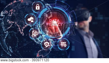 Cyber Security Data Protection Business Technology Privacy Concept. Data Privacy