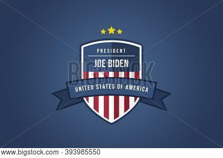 Washington Dc, Us 08/11/2020: Congratulations To Democrat Joe Biden The 46th President Of The United