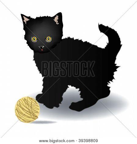 Vector kitten