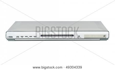 Slim Silver Single DVD player