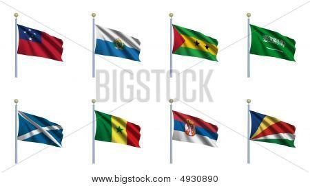 World Flag Set 20