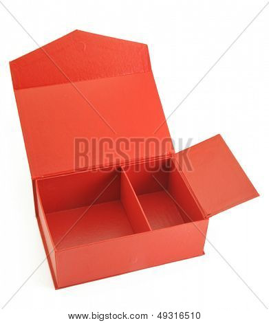 Open the red box