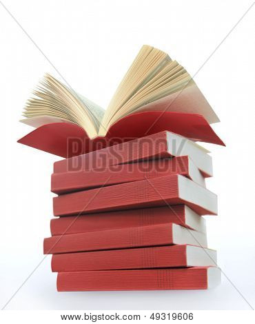 opened books