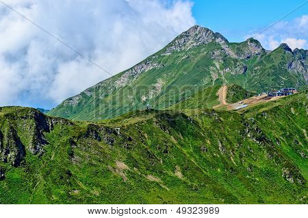 Landscapes And Views Of Krasnaya Polyana, Sochi.