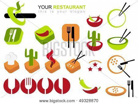 Restaurant-Logo-set