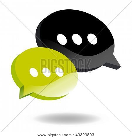 speech balloon symbol