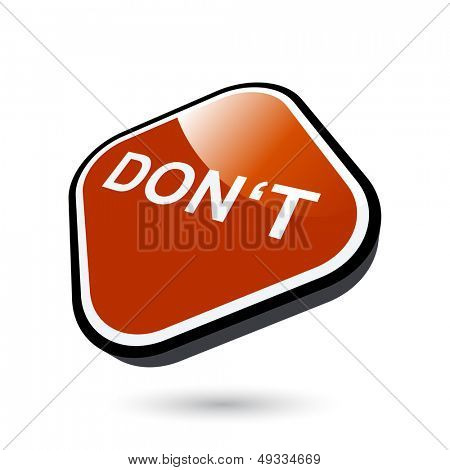 modern negative sign