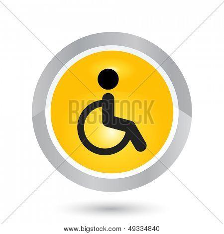 modern disability sign