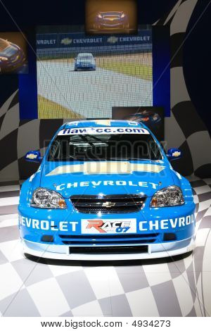 Moscow, Russia - 28 August, 2008: Chevrolet At Moscow International Exhibition Motorshow 2008, Mosco