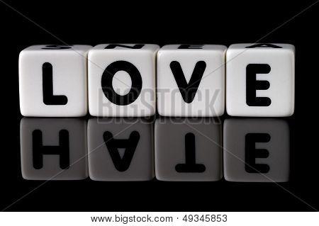 Love Hate Concept