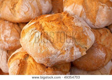 pile of crispy oven breads