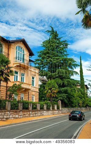Road In The City. Croatia