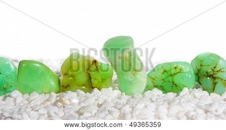 Chrysoprase, A Green Chalcedony