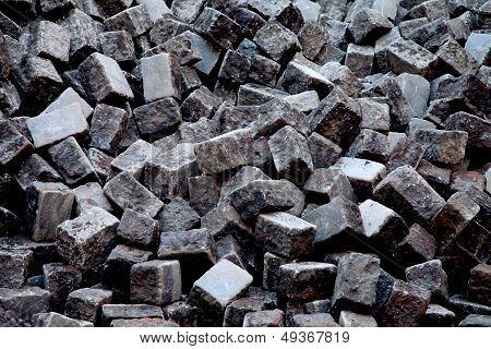 Pile Of Cobblestones
