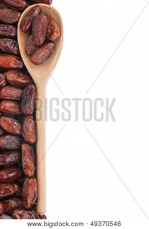 Wooden Spoon With Dates