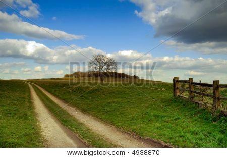 Leading To Badbury Rings