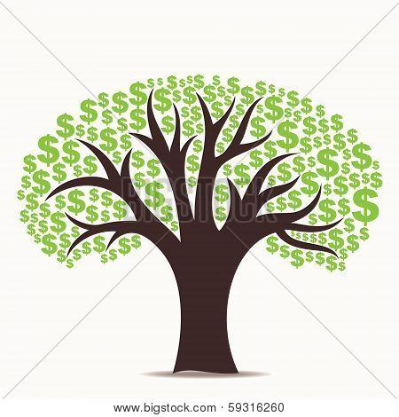 dollar tree stock vector
