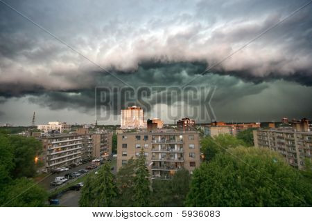 Werkelijke Storm wolken