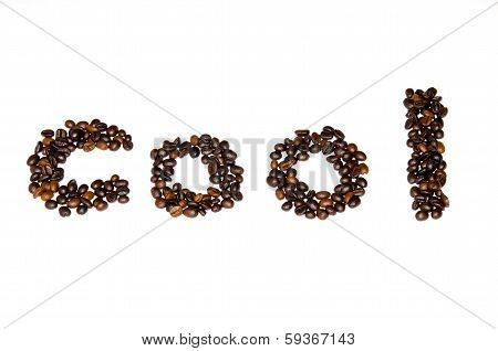 Coffee Beans Font