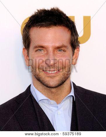 LOS ANGELES - JAN 16:  Bradley Cooper arrives to the Critics' Choice Movie Awards 2014  on January 16, 2014 in Santa Monica, CA