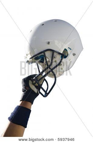 Fußball Helm Beschneidungspfad