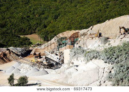 Quarry inert material