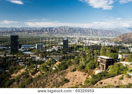 View over Burbank