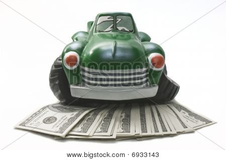Spending Money In An Old Truck