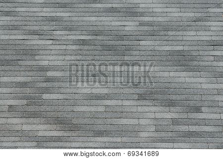 Grey shingle background texture in various shades. poster