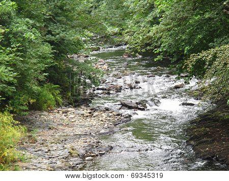 River Waterfall Landscape