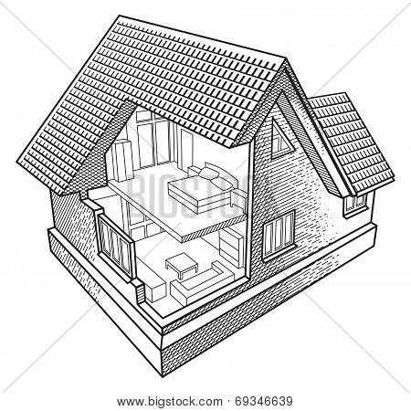House in the section.