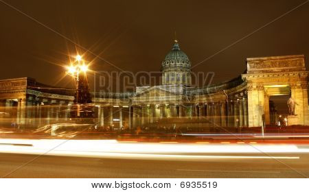 Night Saint Petersburg