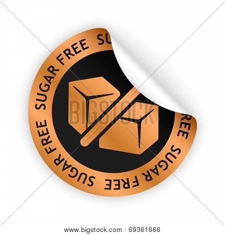 Sugar Free Bent Sticker