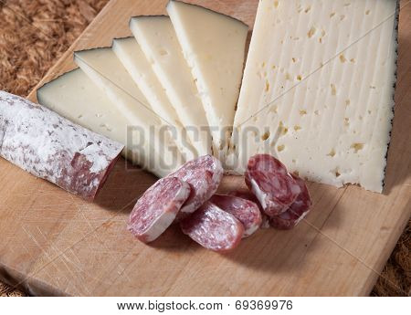 Spanish Sausage And Cheese