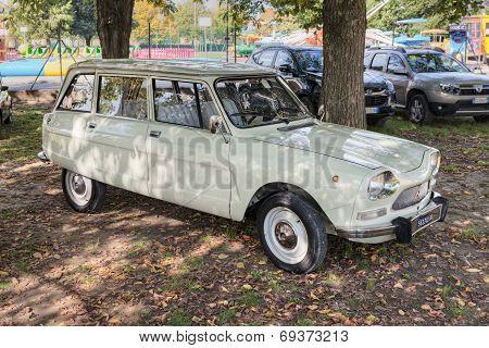 Vintage Car Citroen Ami 8