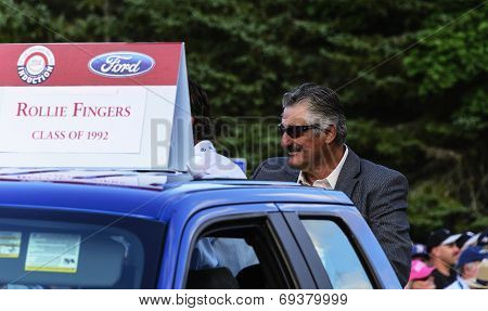 Rollie FIngers, Hall of Fame