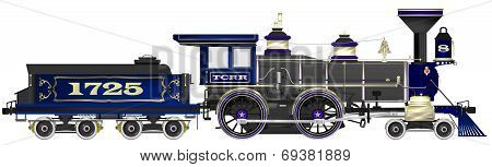 Vintage Steam Locomotive