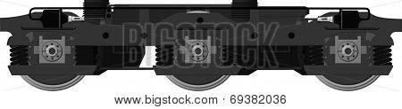 Modern Locomotive Drive Bogie