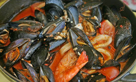 Mussels And Seafood Stew