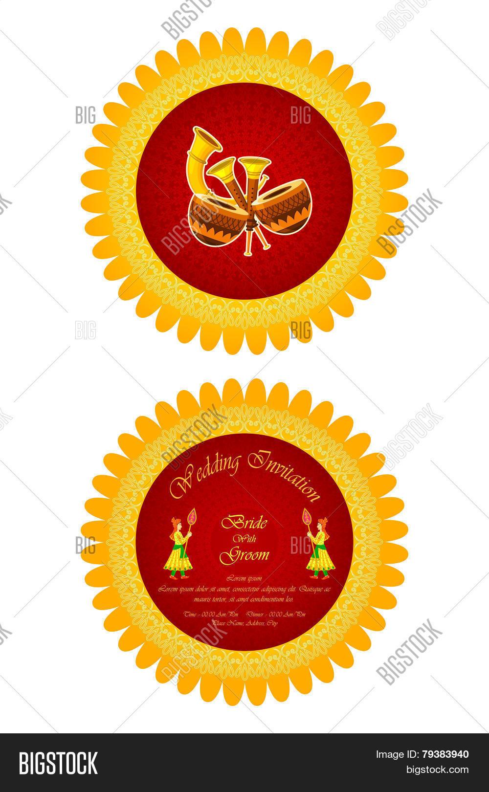 Indian Wedding Vector & Photo (Free Trial) | Bigstock