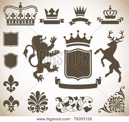 Heraldry Ornaments