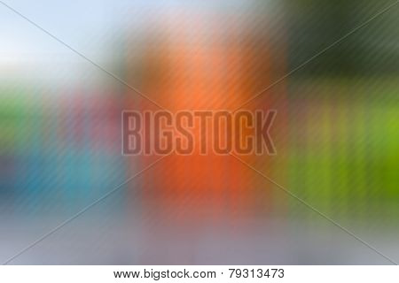 Blue,green,orange Color Tone Abstract