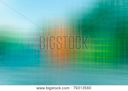 Yellow,blue,green,orange Color Tone Abstract