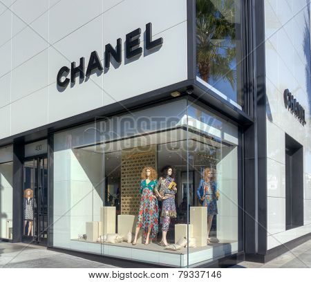 Chanel Retail Store Exterior