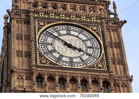 Big Ben Clock Detail