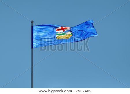 Provincial Flag For Alberta, Canada