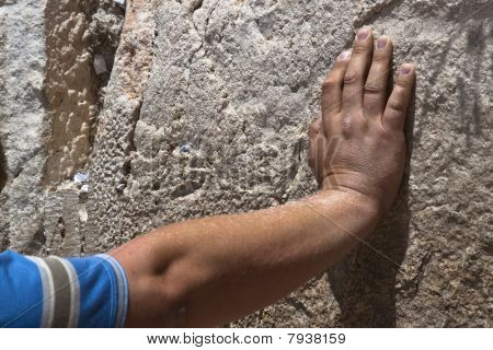 Hand On The Wall