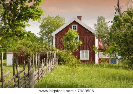Oudzweeds boerderij
