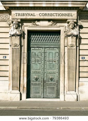 Old Doors In Paris, France